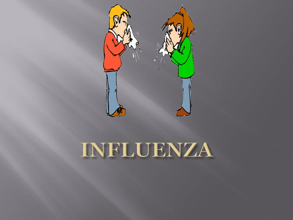  influenza veya enflüanza, viral bir hastalıktır.