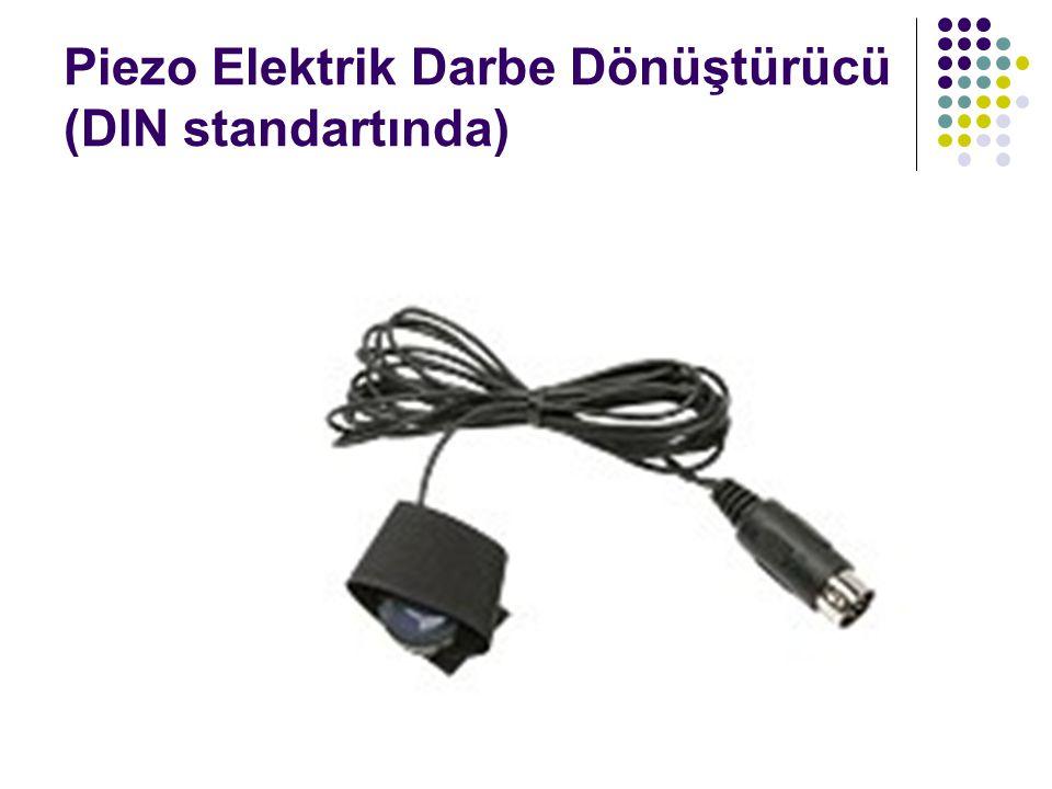 Piezo Elektrik Darbe Dönüştürücü (DIN standartında)