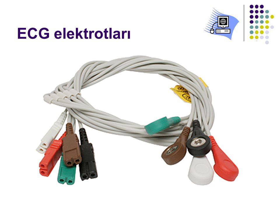 ECG elektrotları