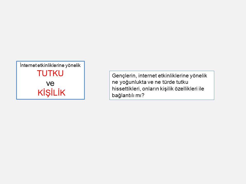 İnternet, arkadaşlık ve Kültür Tosun, L.P.(2002).