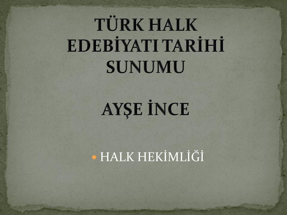 HALK HEKİMLİĞİ