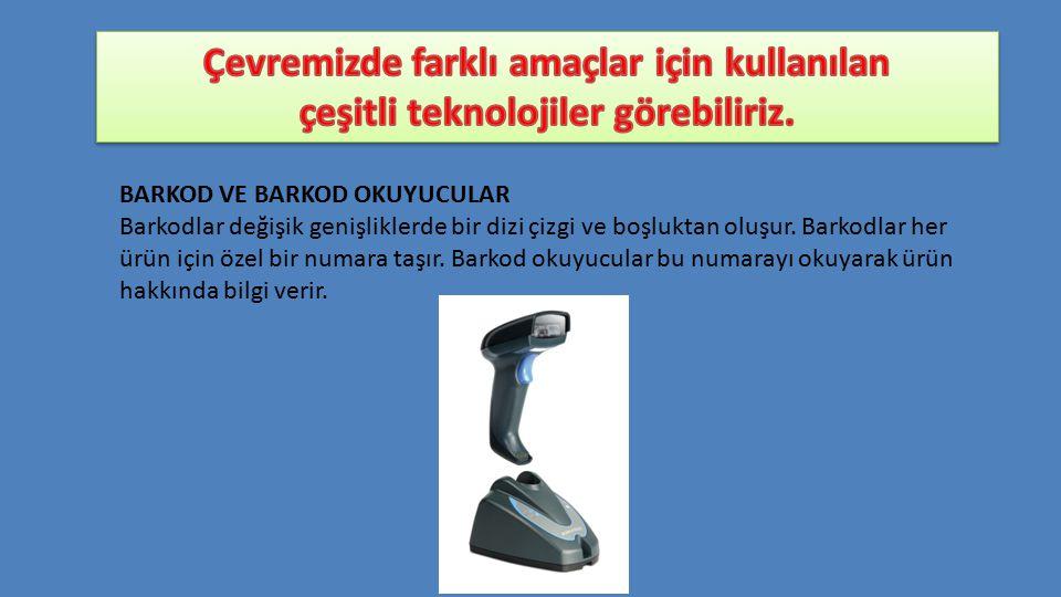 BARKOD VE BARKOD OKUYUCULAR Barkodlar değişik genişliklerde bir dizi çizgi ve boşluktan oluşur.