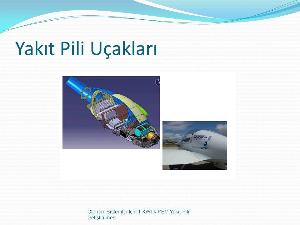 Yakıt Pili Uçakları Otonom Sistemler İçin 1 KW'lık PEM Yakıt Pili Geliştirilmesi