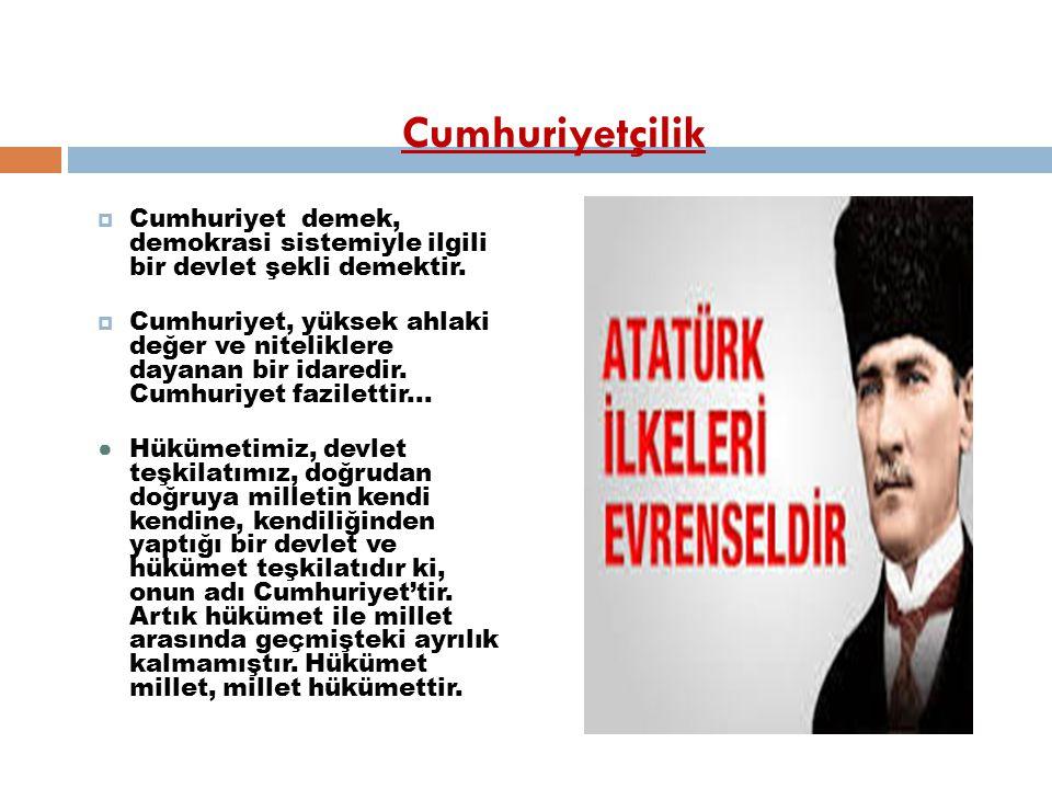 Atatürk İ lkeleri