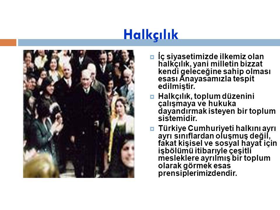 Milliyetçilik Türkiye Cumhuriyeti'ni kuran Türkiye halkına Türk Milleti denir.  Diyarbakırlı, Vanlı, Erzurumlu, Trakyalı, hep bir soyun evlatları ve