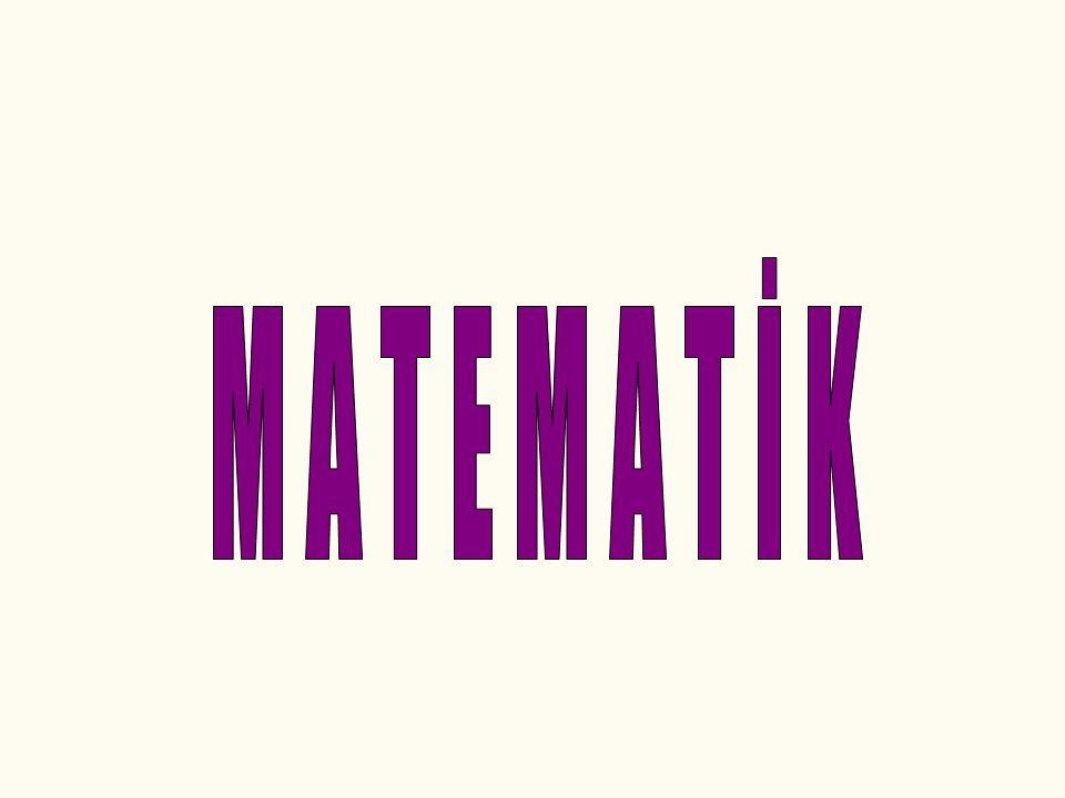 Matematiğe merakı olan arkadaşlar, lütfen aşağıdaki soruyu çok dikkatle inceleyiniz ve hemen cevaba bakmayınız !!.