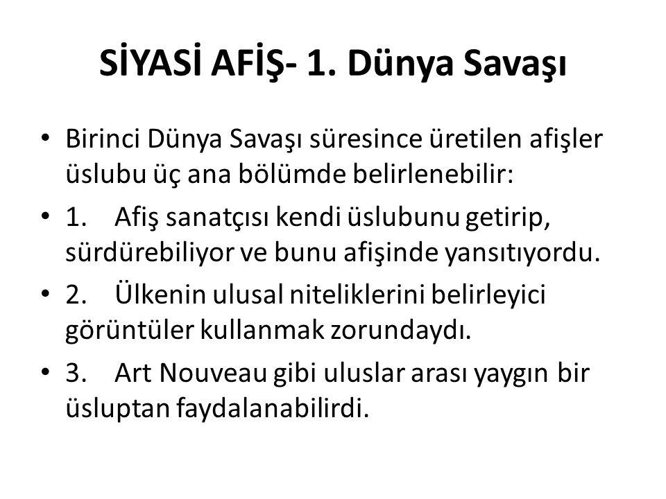 SİYASİ AFİŞ- 1.