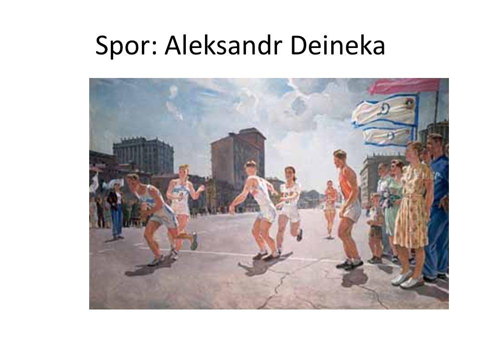 Spor: Aleksandr Deineka