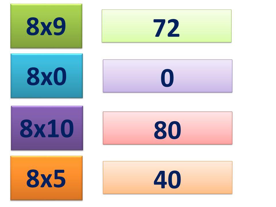 8x9 72 8x0 8x10 8x5 0 0 80 40