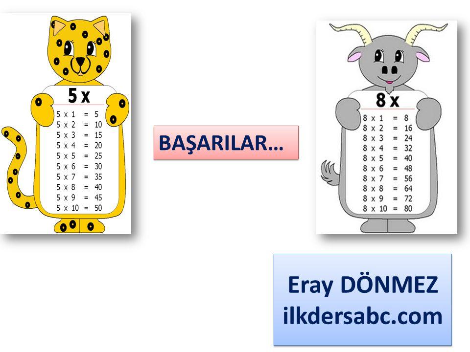 Eray DÖNMEZ ilkdersabc.com BAŞARILAR…