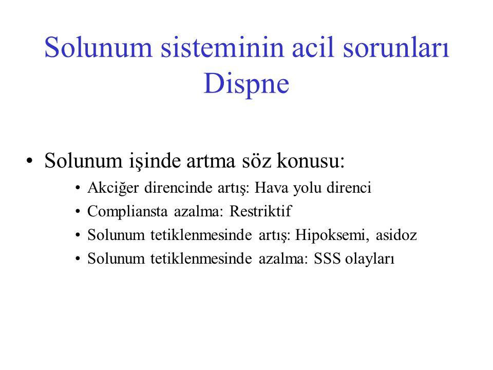 Acil solunum sistemi hastalıkları PTE Antikuagulan tedavi Enoksiparin Tinzaparin 1 mg/kg SC her 12 saatte veya 1.5 mg/kg SC gün 175U/kg/ gün Klasik heparin İlk bolus: 80Ü/kg IV daha sonra 18 U/kg/saat IV 4- 6.