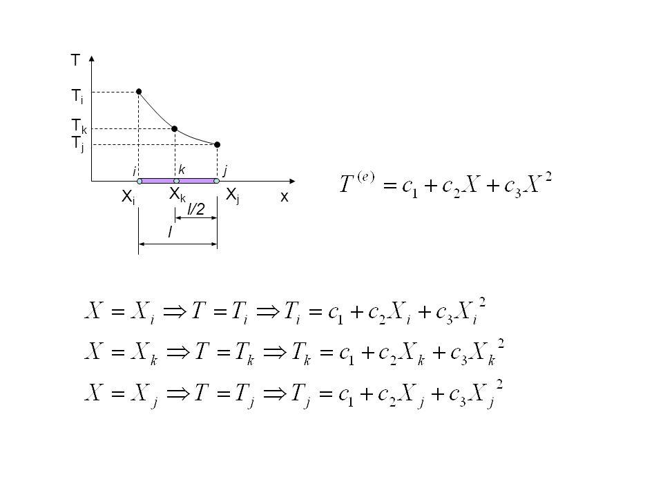 Burada S i, S j ve S k şekil fonksyonları olup formülleri aşağıdaki gibidir.