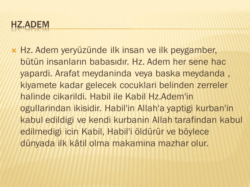 Kur'ân'da adı gelen peygamberlerden biri.Soyu Dâvud (a.s)'a dayanmaktadır.