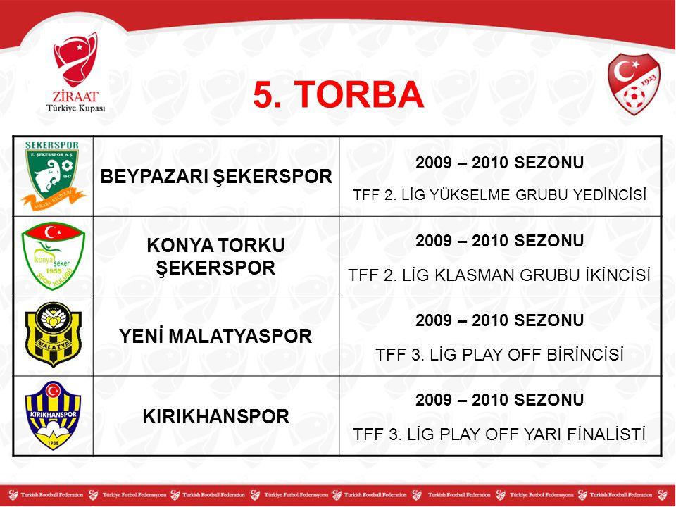 BEYPAZARI ŞEKERSPOR 2009 – 2010 SEZONU TFF 2.