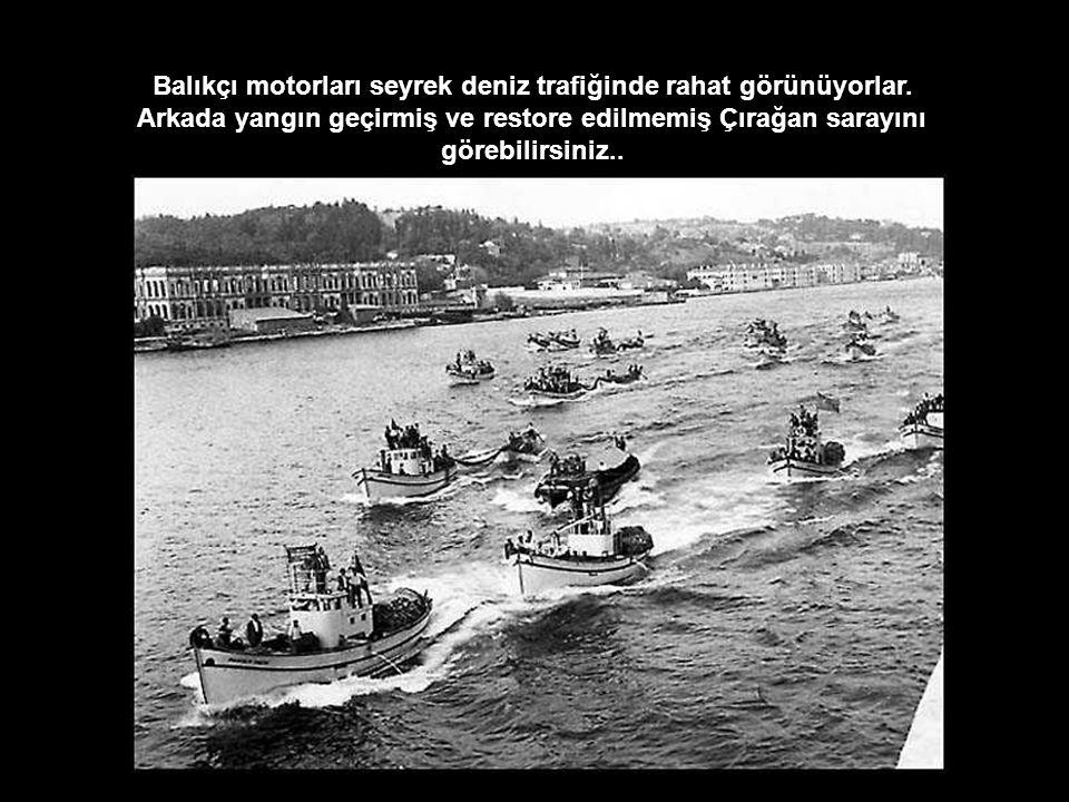 Beşiktaş iskelesine bakın…