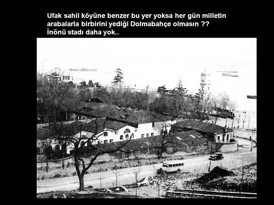 Ee peki eskiden Beşiktaş nerde oynuyordu diyenler için..