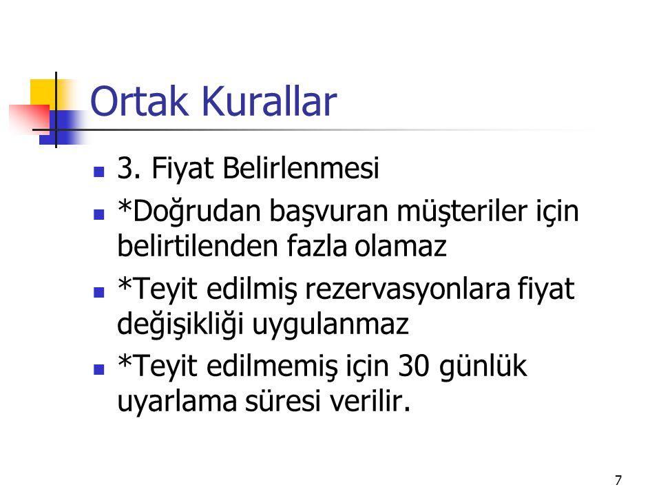 8 Ortak Kurallar 4.