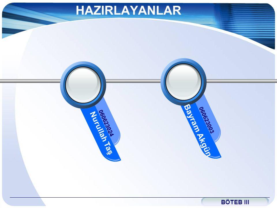 www.themegallery.com HAZIRLAYANLAR Bayram Akgün 060623003 Nurullah Taş 060623024 BÖTEB III