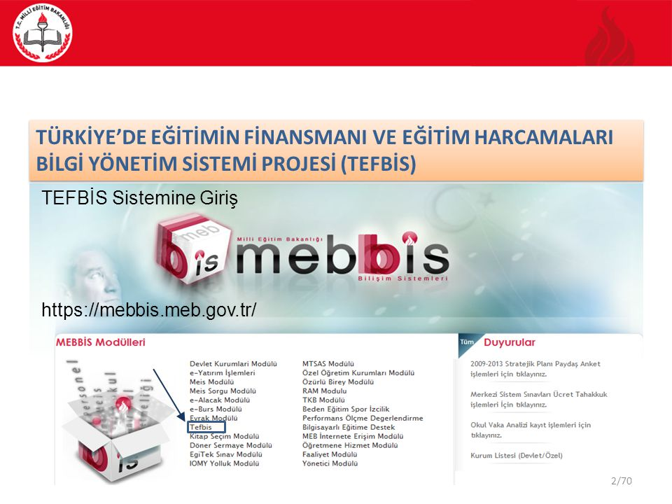 3/70 TEFBİS Portal