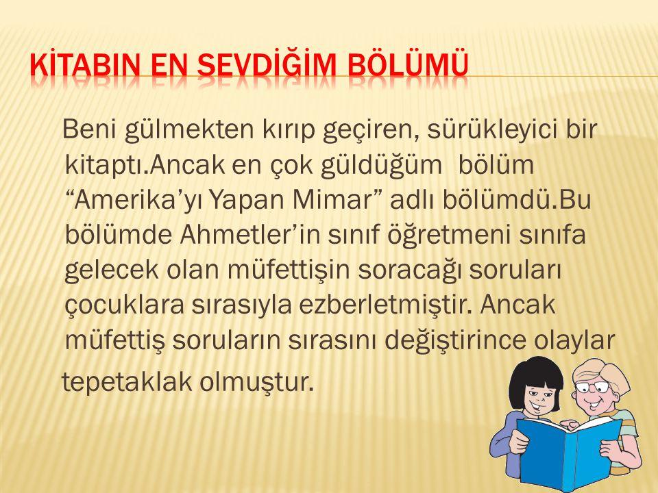 Zeynep ile Ahmet aynı sınıfta okuyan iki yakın arkadaştır. 5. sınıfa geçtikleri yıl Zeynep ailesiyle İstanbul'dan ayrılıp Ankara'ya taşınır. Ama bu ik