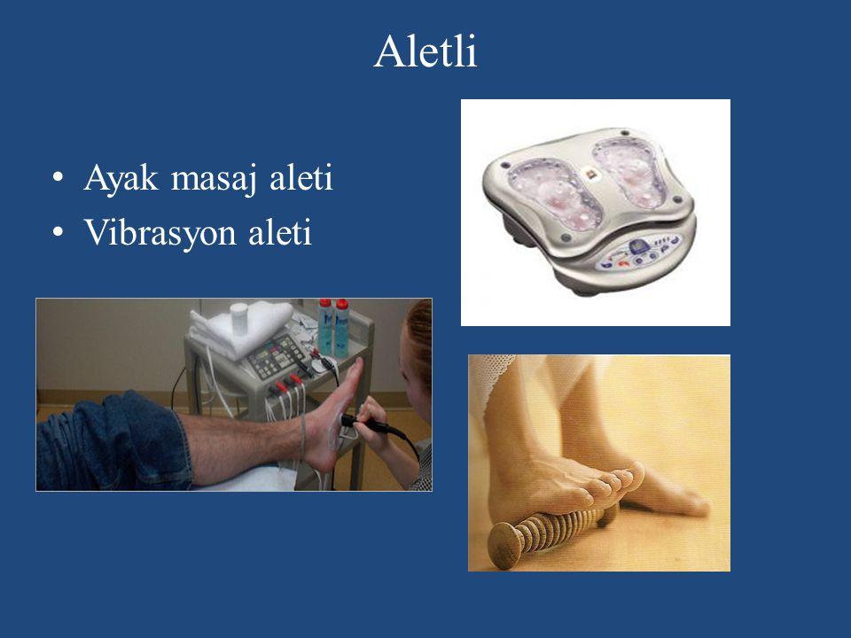 Aletli Ayak masaj aleti Vibrasyon aleti