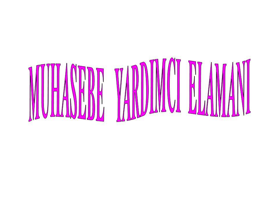 Muhasebe yardımcı elemanı; kişi, kurum ve kuruluşlarla ilgili yasal defterlerle belgeler hakkında bilgi sahibi olan, bu belgelerle muhasebede kullanılan bildirge, bordro ve beyannameleri düzenleyebilen, konu ile ilgili yazışmaları yapabilen kişidir.