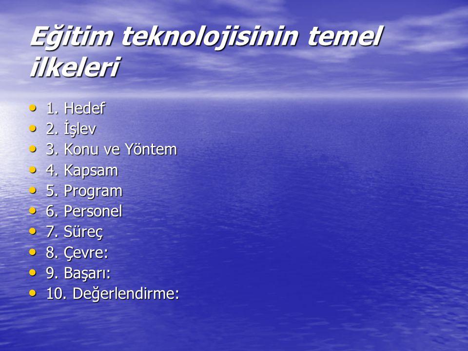 ÖĞRETİM TASARIMI VE TEKNOLOJİSİ TARİHİ 2.
