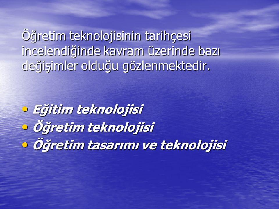 ÖĞRETİM MATERYALLERİNİN TARİHİ *II.