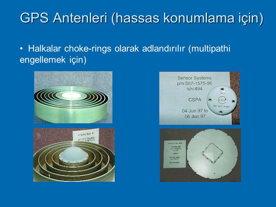 GPS Multipath hatları Multipath etisinden kaçınmak için Yansıtıcı yüzeylerden kaçınmak Multipath önleyici antenler kullanmak Multipath engelleyici alı