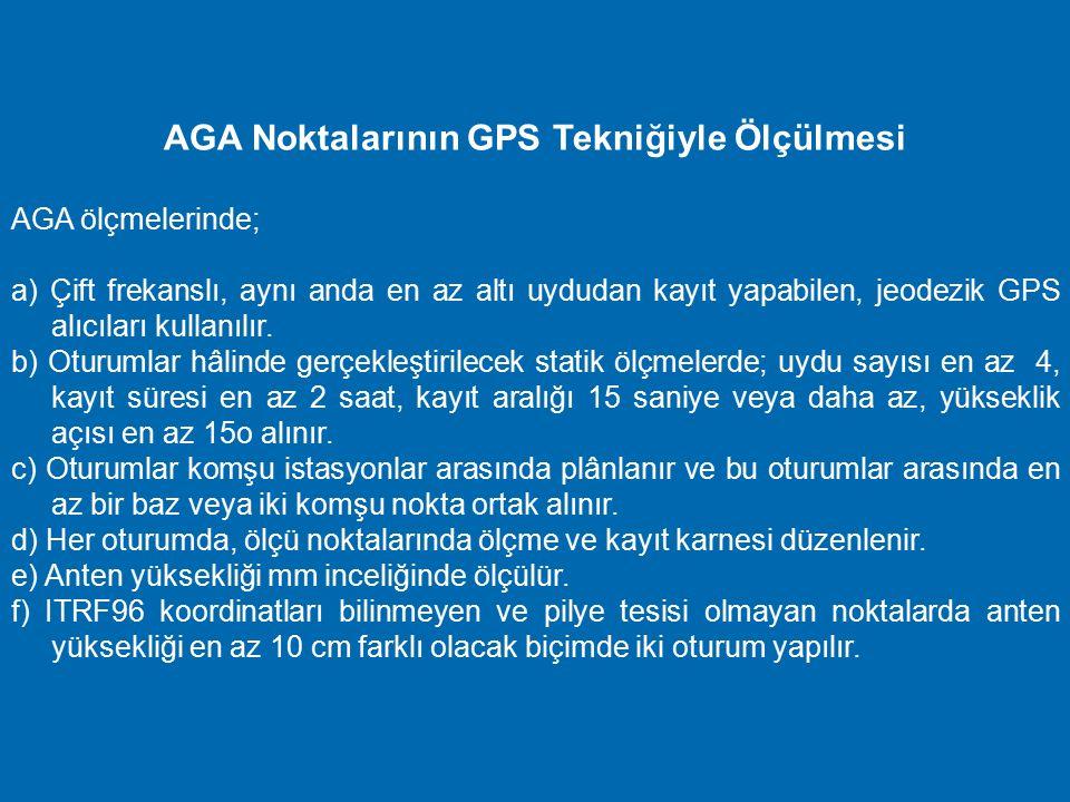 Türkiye Ulusal Düşey Kontrol (Nivelman) Ağı ve bu ağa dayalı olarak oluşturulan düşey kontrol ağlarının derecelendirilmesi şöyledir : 1) I. Derece Niv