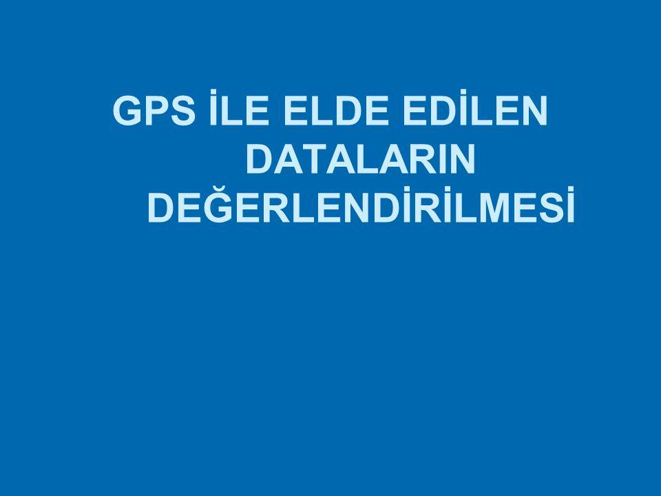 GPS ile detay ölçmeleri Kinematik konum belirleme yöntemi ile yönetmeliğin 46. maddesine uygun olarak detay alımı yapılabilir.