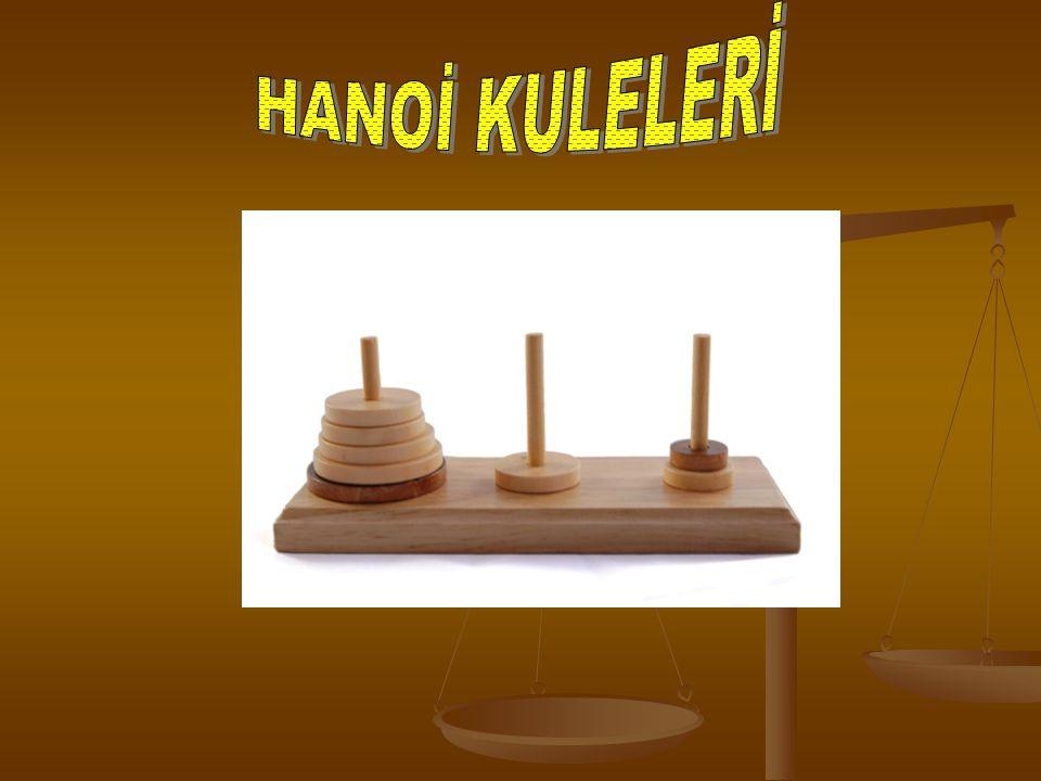 Hanoi kuleleri matematik oyunu veya bulmacasıdır.