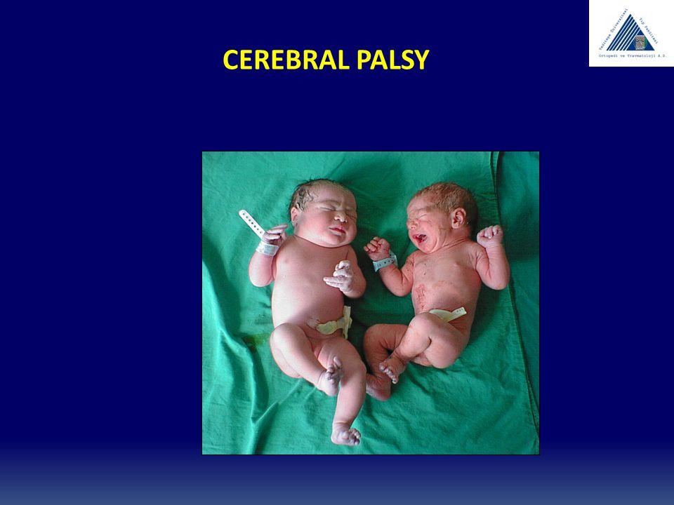 Cerebral palsy ENDİKASYONLAR: DİNAMİK DEFORMİTE AĞRILI SPASTİSİTE AMELİYAT SONU AĞRI KONTROLÜ BRACE İNTOLERANSI AMELİYAT YAŞINI GECİKTİRMEK
