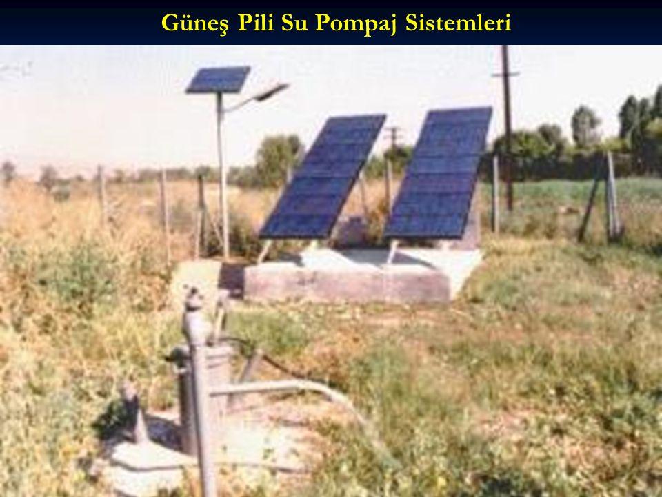 Güneş Pili Su Pompaj Sistemleri