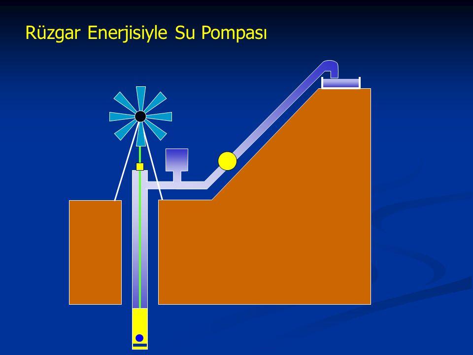 Rüzgar Enerjisiyle Su Pompası