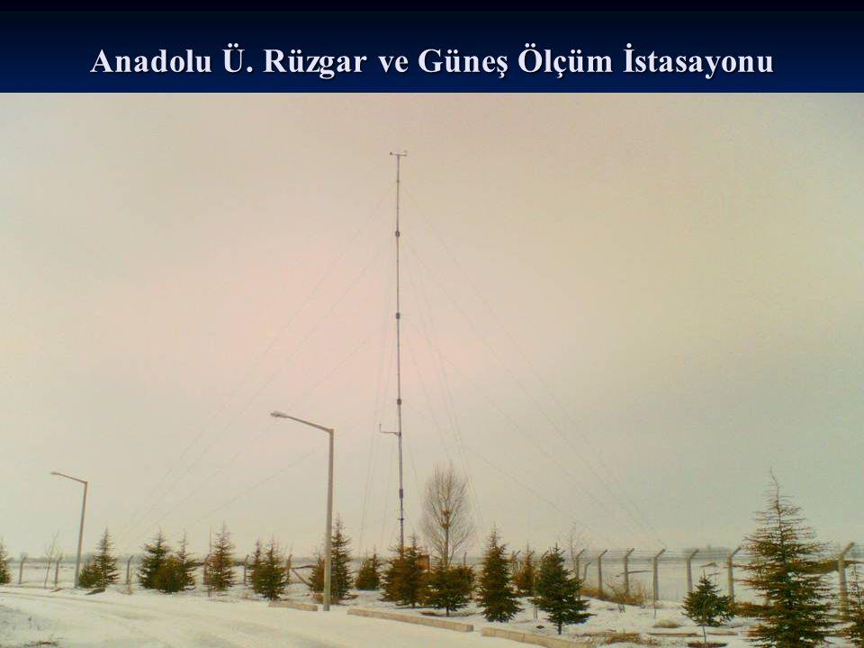 Anadolu Ü. Rüzgar ve Güneş Ölçüm İstasayonu