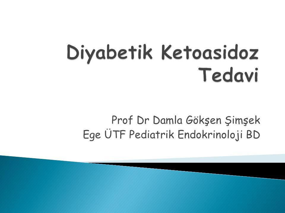 Prof Dr Damla Gökşen Şimşek Ege ÜTF Pediatrik Endokrinoloji BD