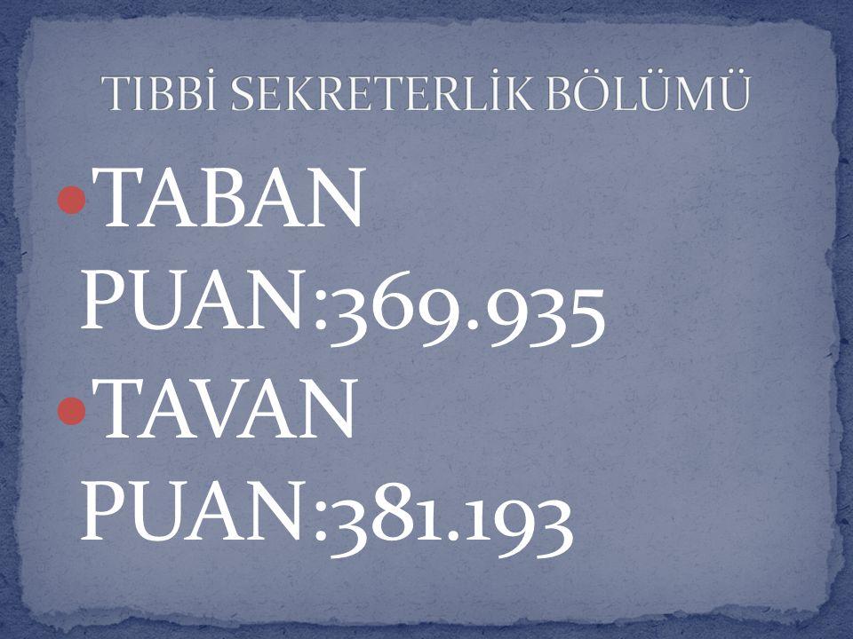 TABAN PUAN:369.935 TAVAN PUAN:381.193