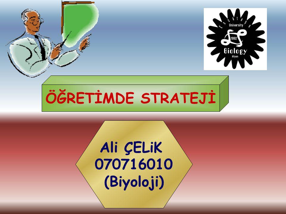 Strateji: Genel olarak bir şeyi elde etmek için izlenen yol ya da amaca ulaşmak için geliştirilen bir planın uygulanmasıdır.