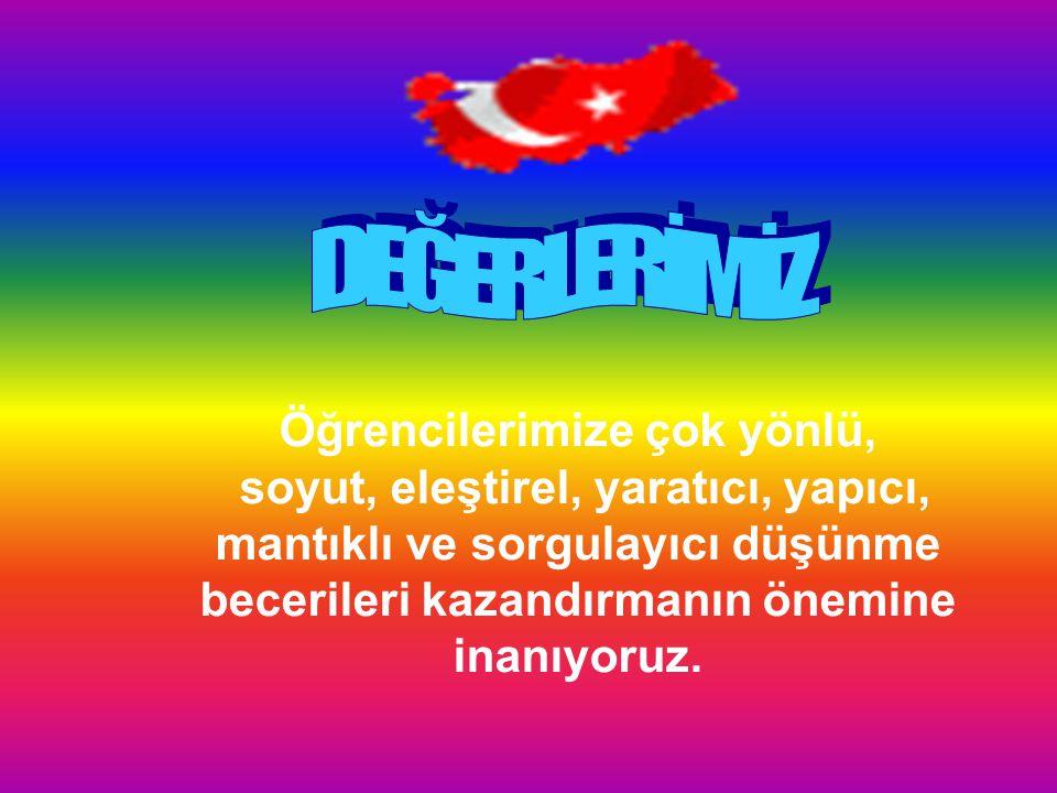 Türk Milletinin vazgeçilmez değerlerinden olan Türkçemizin etkili bir şekilde kullanımı ve yaşatılması konusunda hassasiyet sahibiyiz. Eğitimin en öne