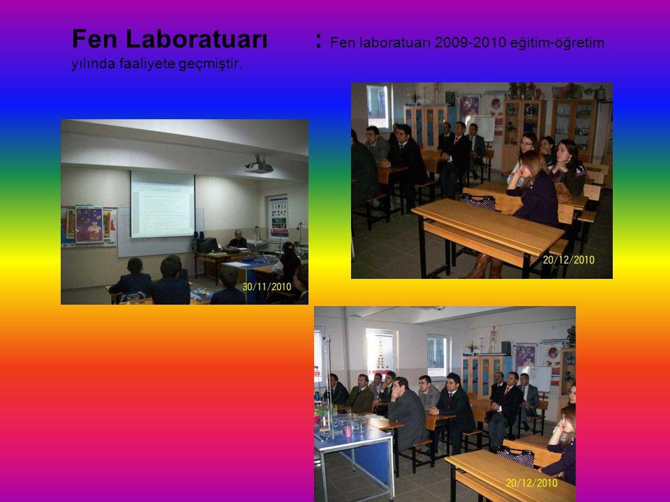Bilgi Teknoloji Sınıfı: Bilgisayar Teknoloji sınıfı Ulaştırma Bakanlığı tarafından 2007-2008 öğretim yılı için planlamaya alınmış ve yapılmıştır. 2010