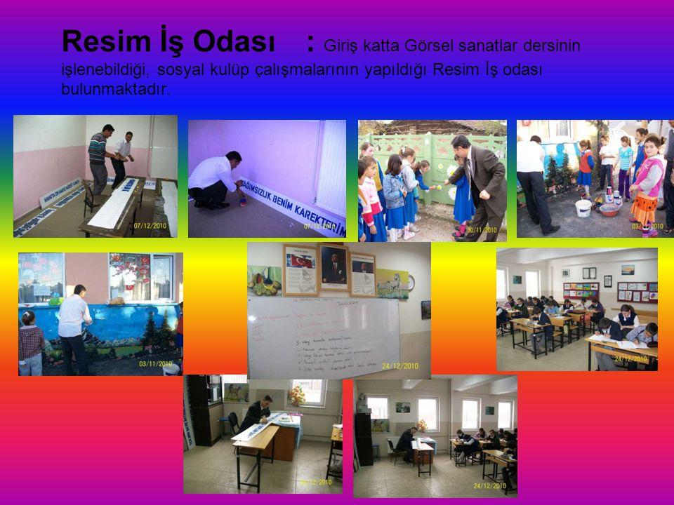 Fen Laboratuarı: Fen laboratuarı 2009-2010 eğitim-öğretim yılında faaliyete geçmiştir.