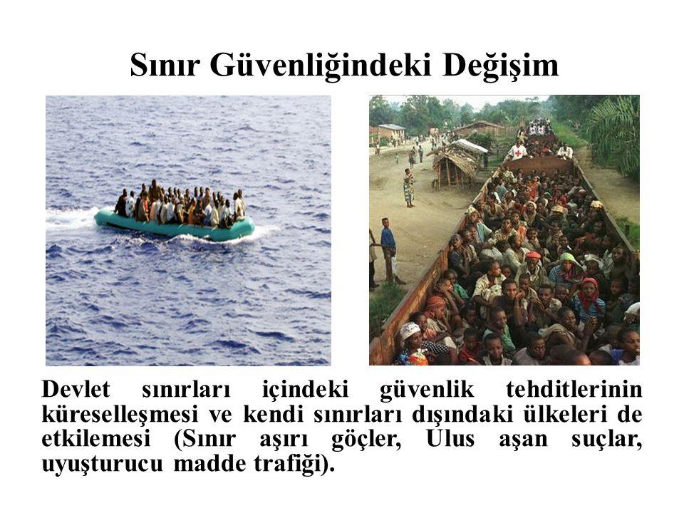 Türkiye'de Sınır yönetimiyle ilgili gelişmeler bulunmaktadır fakat sınırla yönetiminde rol oynayan kurumların yetkilerini netleştirecek bir çalışma gündemde bulunmamaktadır.