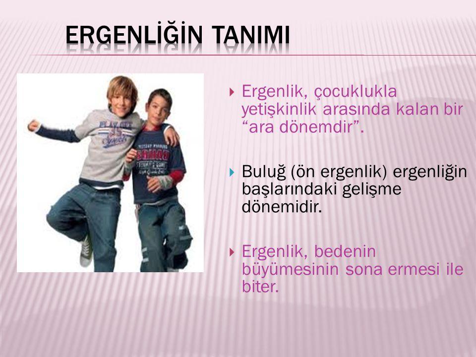  Erkeklerin üreme organındaki değişiklik ortalama olarak 11-12 yaşlarında başlar.