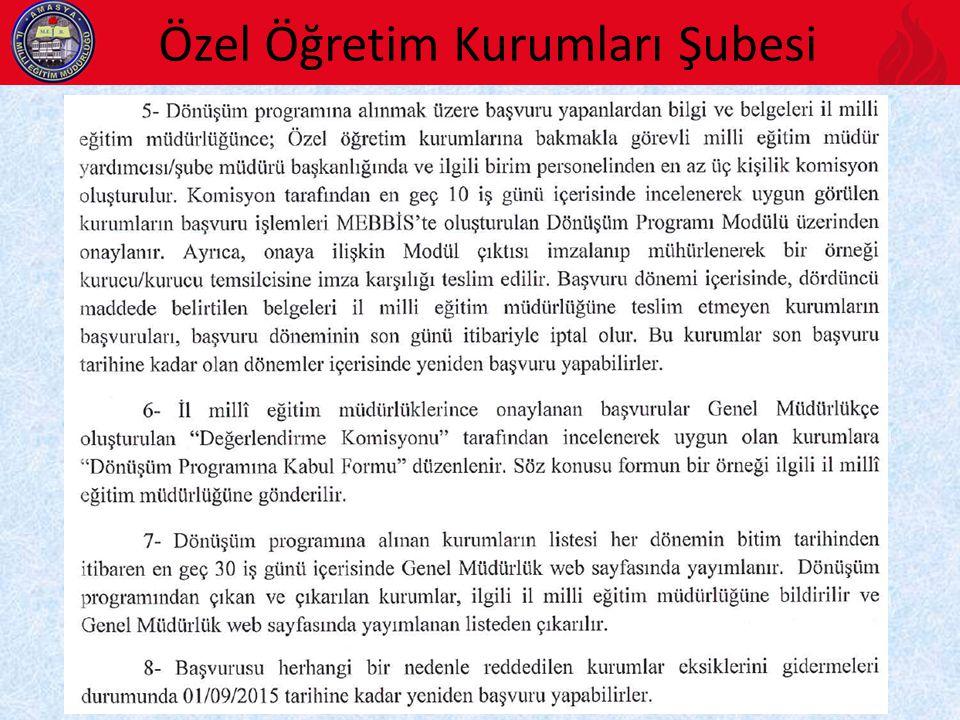 DÖNÜŞÜM BAŞVURUSUNDA HAZIRLANMASI GEREKEN BELGE ÖRNEKLERİ 1.