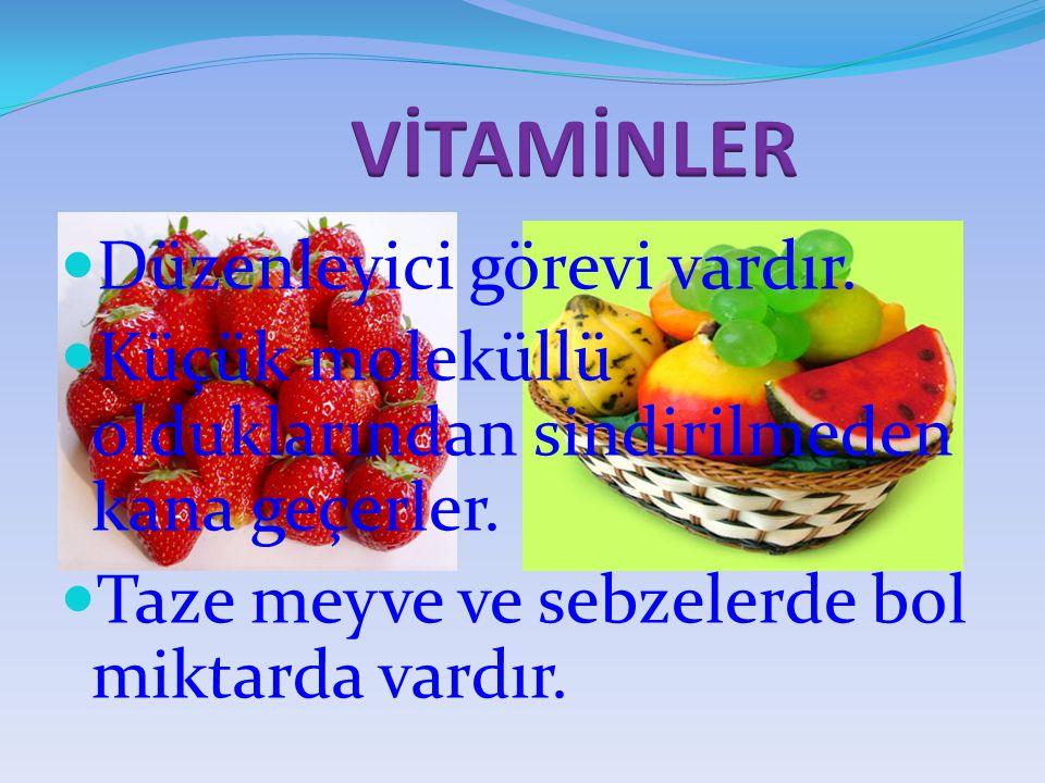 VİTAMİNLERİN GRUPLANDIRILMASI A) SUDA ERİYEN VİTAMİNLER: Vücutta depolanmazlar. (B- C) vitaminleri. B)YAĞDA ERİYEN VİTAMİNLER: Vücutta depolanırlar.(A