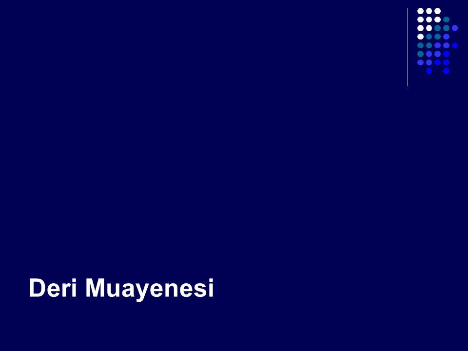 Deri Muayenesi