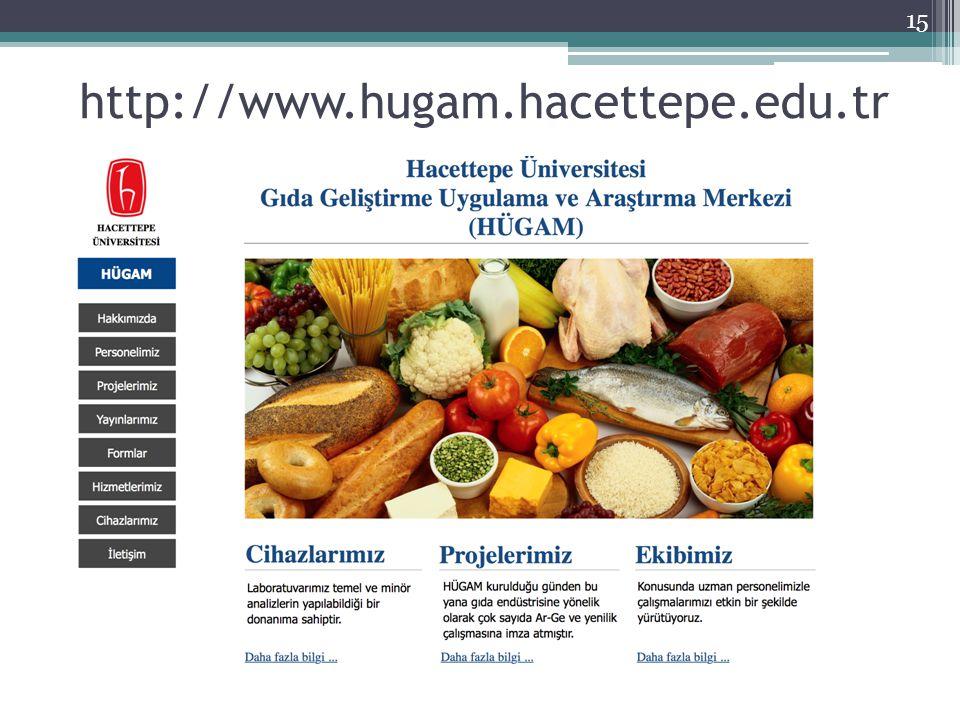 15 http://www.hugam.hacettepe.edu.tr