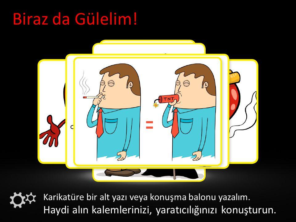 Kullananların Uyduruk Gerekçeleri - Sigara öfkemi yatıştırıyor.