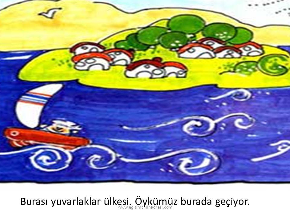 Burası yuvarlaklar ülkesi. Öykümüz burada geçiyor. www.egitimcininadresi.com